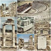 Ancient city of Hiyeropolis — Stock Photo