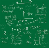 Mathematics background vector — Stock Vector