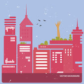 Modern sityscapes — Stock Vector