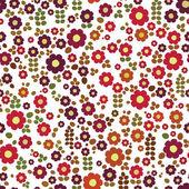 Flores de colores — Vector de stock