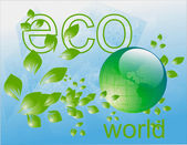 La cura di pianeta terra — Foto Stock