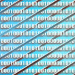 Internet binary code background and communications — Stock Photo