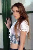 Girl looking sensually — Stock Photo