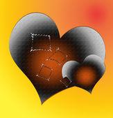 Heart shaped — Stock Photo