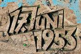 17. Juni 1953 — Stock Photo