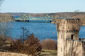 Bridge and Castle Tower — Stock Photo
