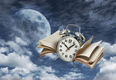 Time flies history concept — Stock Photo