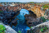 Grotto Boca de Inferno (mouth of hell) Portugal — Stock Photo