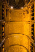 Gothic ceiling inside Cathedral Sé in Lisbon — Stock Photo