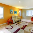 Living room with play area for kids. — Stock Photo #11406250