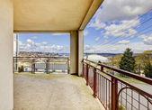 Balkonblick auf der Tacoma dome. — Stockfoto