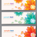 Flower vector background — Stock Vector