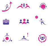 Buisness concept set of icons — Stock Vector