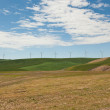Row of Windmills — Stock Photo
