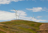 Three Windmills — Stockfoto