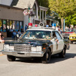 Old Sheriff&amp;quot;s Patrol Car - Stock Photo