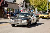 """Old Sheriff""""s Patrol Car — Stock Photo"""