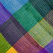 Colorful fabric texture. — Stock Photo