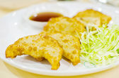 Dumplings food. — Stockfoto