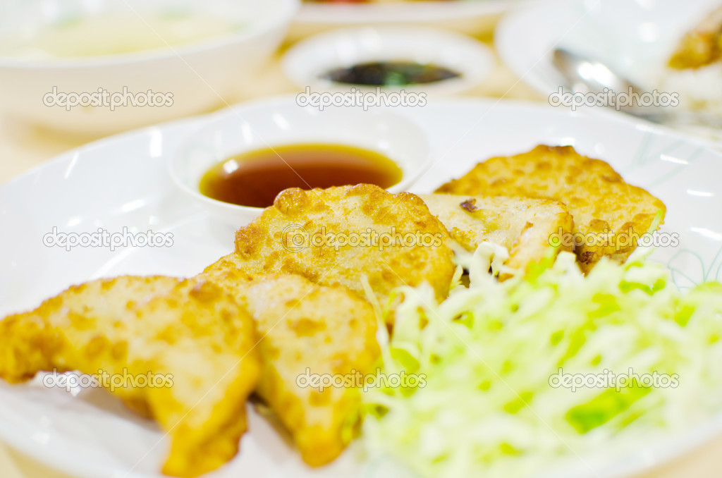 Image for dumpling food from Japan. — Stock Photo #11531852