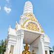 Thailand Buddha statue in the temple. — Stock Photo #11548942