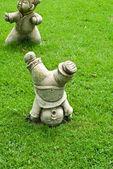 对草庙场中国雕像 — 图库照片
