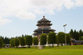 Chinese temple — Stockfoto