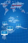 Communication réseau social — Photo