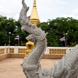 Thailand Buddha statue in the temple - Stock Photo