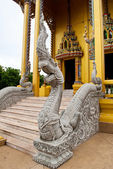 Thailand Buddha statue in the temple — Stock Photo