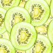 Kiwi healthy fruit texture background. — 图库照片