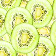 Kiwi healthy fruit texture background. — Stock Photo