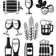 Royalty-Free Stock Vector Image: Beer Set