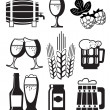 Beer Set — Stock Vector #10756731