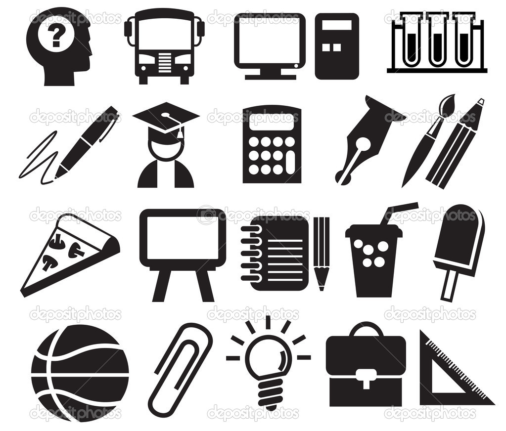 Education Icons Vector Free Download Education Icons Signs Vector