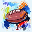 Royalty-Free Stock Vector Image: American football
