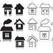 Vector houses — Stock Vector #10847413