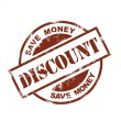 Discount stamp - Stock Vector