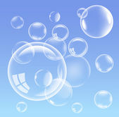 Vector bubbles — Stock Vector