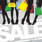 Shopping time — Stock Vector