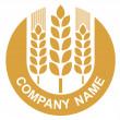 Weizen-logo — Stockvektor