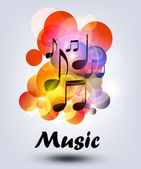 Vector music — Stock Vector