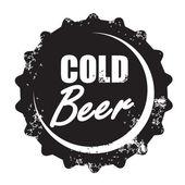 ビールのベクトル スタンプ — ストックベクタ