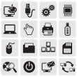 Computer icons — Stock Vector #11441532