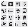 Communication icons — Stock Vector #11446610