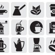 Coffee icons — Stock Vector #11477116