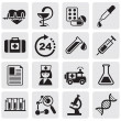 Medicine & Heath Care icons — Imagen vectorial
