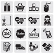 Shopping Icons — Stock Vector #11477143