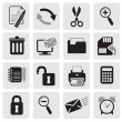 Web Icons - Vettoriali Stock 