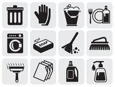 清洗的图标 — 图库矢量图片